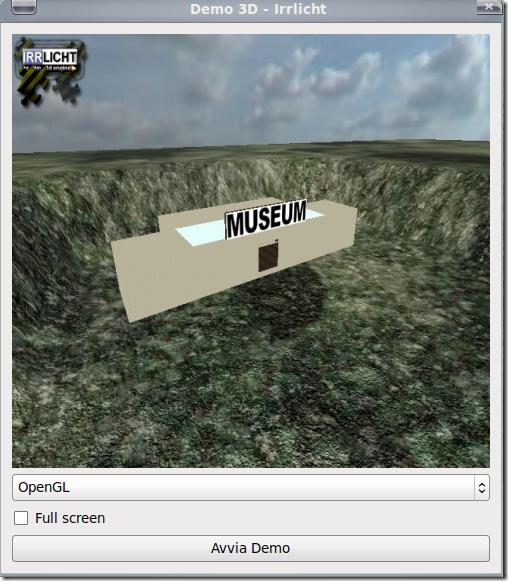 Prima schermata su linux ubuntu