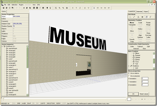 Deled e il museo virtuale