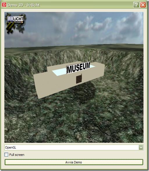 Schermata iniziale su Windows