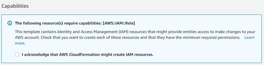 IAM resource