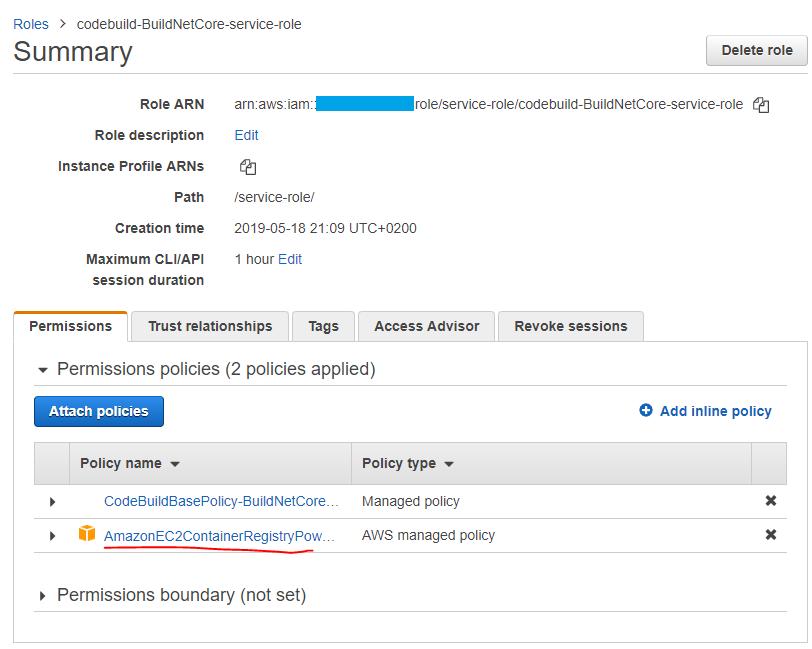 AmazonEC2ContainerRegistryPowerUser