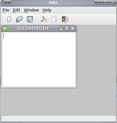 mdi su Linux e Gnome e Qt