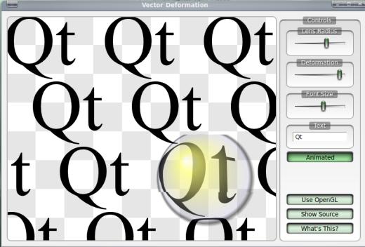 Esempio grafico con Qt