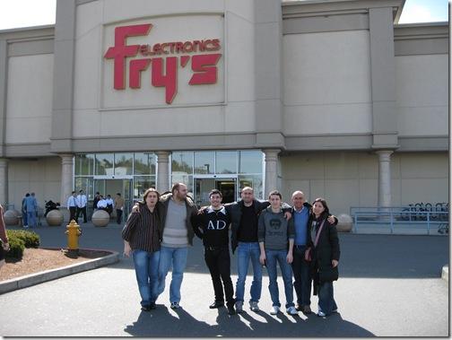 Tutti davanti a Fry's